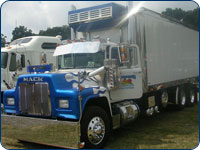 big rig truck washing service